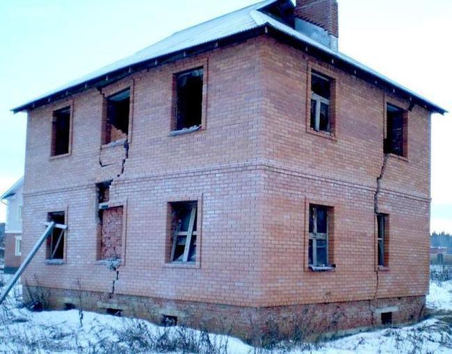 Разрушение дома